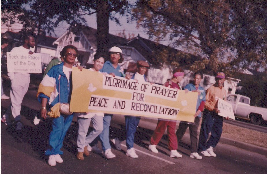 Central Congregational Church, Community Activism photo date unknown
