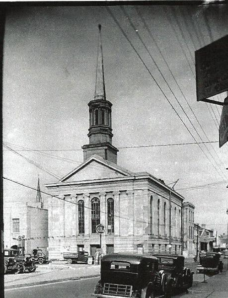Central Congregational UCC church on Bienville