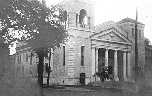 St. Matthew Evangelical Church, S. Carrollton Avenue, 1929