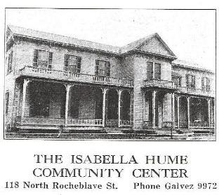 Isabella Hume Community Center